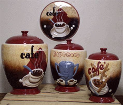 coffee themed kitchen canisters kitchen wall decoration coffee decor for kitchen for cup