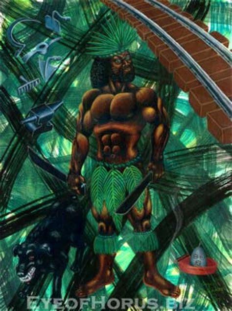 imagenes de ogun el dios del hierro los santos guerreros orisha oggun