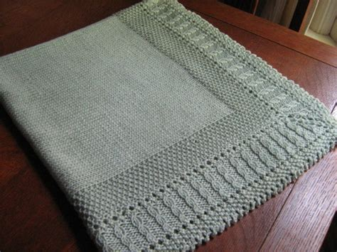 Pattern For Baby Blanket Knitting cable afghan knitting patterns in the loop knitting