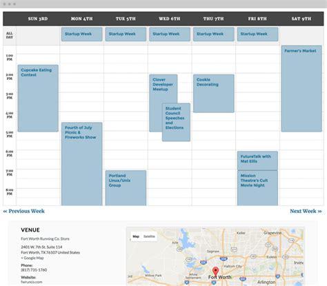 design event calendar 2016 web design codesquad web design