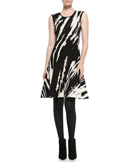 Sleeveless Patterned A Line Dress ohne titel sleeveless patterned a line dress