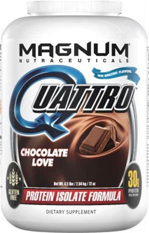 Magnum Whey Protein Magnum Nutraceuticals Quattro At Bodybuilding Best