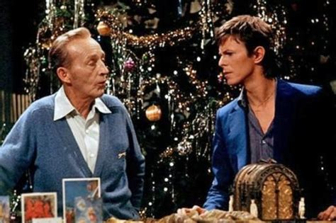 david bowie bing crosby xmas song bing crosby and david bowie duet for christmas rare