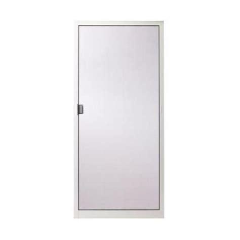Screen Patio Doors Home Depot Andersen 36 In X 78 In 400 Series White Aluminum Sliding Patio Door Insect Screen Doors
