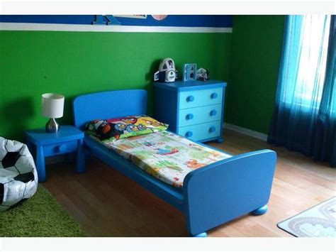 blue ikea mammut toddler bed set orleans gatineau