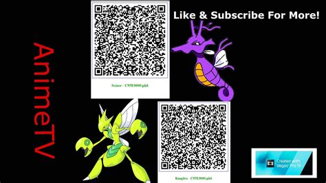 qr code scizor kingdra shinys battle ready pokemon