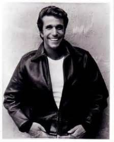 the fonz hairstyle young henry winkler aka the fonz happy days laverne