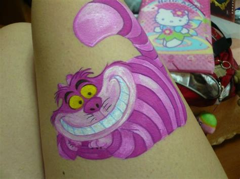 cheshire cat tattoo glow in the dark glow cats and ink on pinterest