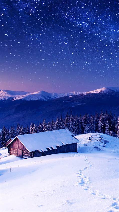 wallpaper mountains   wallpaper  night stars