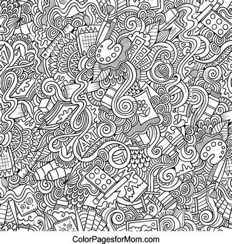 abstract lion coloring pages 92 lion abstract doodle zentangle coloring page