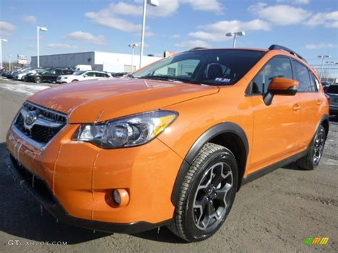 subaru orange crosstrek tangerine orange pearl 2015 subaru xv crosstrek 2 0i