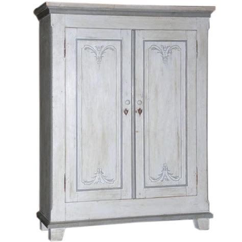 Armoire Small by Small Armoire Painted In Gustavian Style At 1stdibs