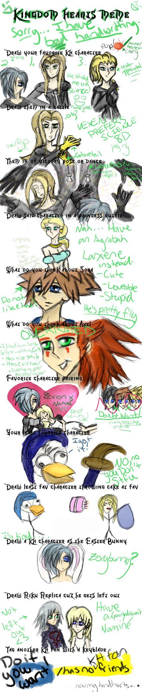Kingdom Hearts Memes - kingdom hearts meme by ladyoflies on deviantart