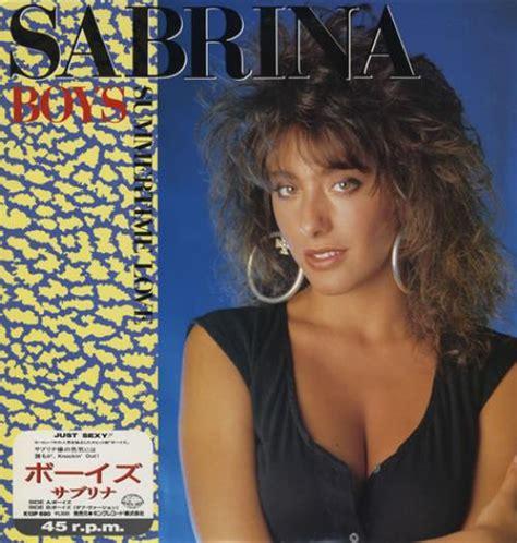 Nem Sarina Maxi sabrina boys japanese 12 quot vinyl single 12 inch record