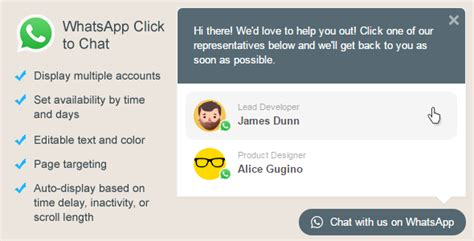 Chat X Plugin V2 1 1 whatsapp click to chat plugin for v1 6