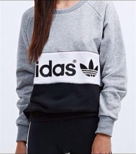 Sweater Wanita Adidas 03 White sweater adidas adidas originals adidas sweater adidas sweats grey sweater black sweater