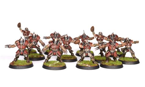 best blood bowl team showcase blood bowl human team tale of painters