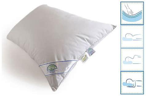 cuscini di piuma cuscino in piuma daunex nuvola la casa econaturale