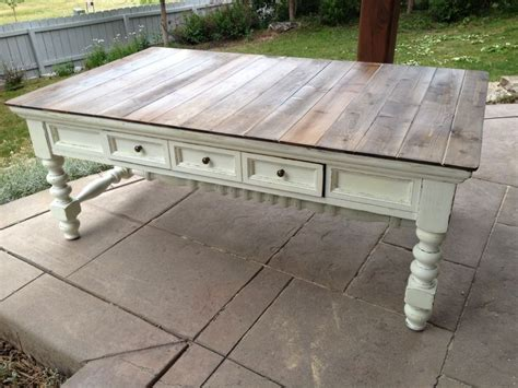 How To Stain A Coffee Table 7 Coffee Table After 2nd Store Find Light Sand Prime White Paint Sand To
