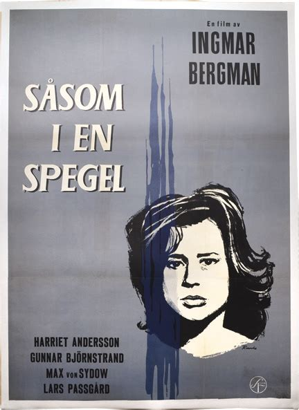 themes in through a film darkly through a glass darkly sasom i en spegel ingmar bergman