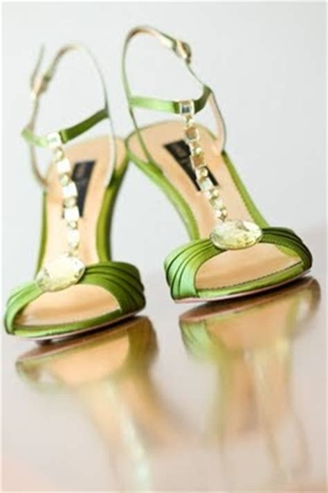 lime green wedding shoes pink and lime wedding