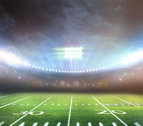 Field Lights by Would You Risk An Earlier To Play Football Dr