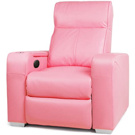 pink recliner chair premiere home cinema chair pink cinema seating massage