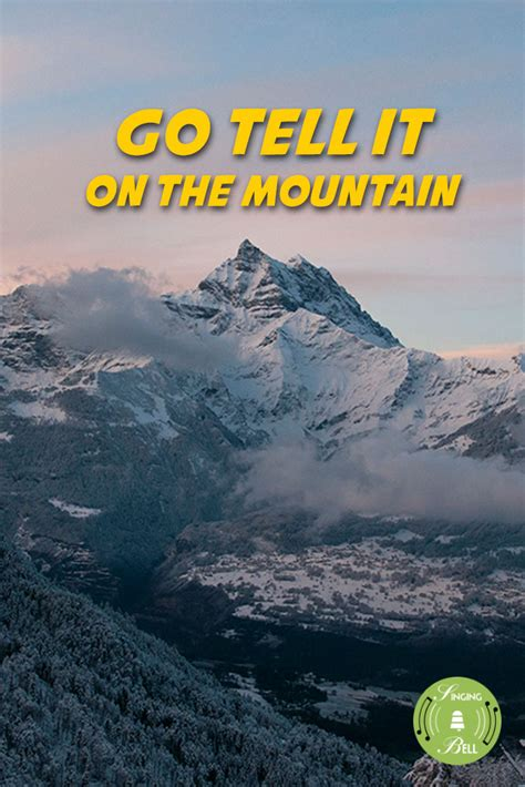christmas carols      mountain