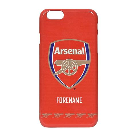arsenal direct arsenal personalised crest phone case personalised gifts