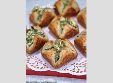 Spinach Cheese Puffs | Cinnamon-Spice & Everything Nice Meat Spinach Cheese Pastry