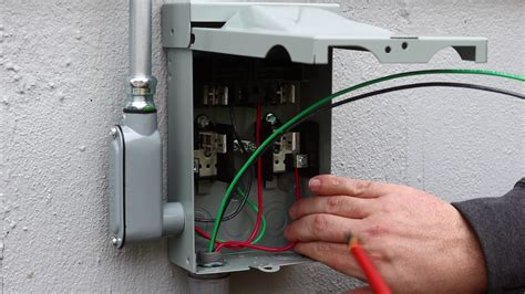 connecting disconnect to outdoor unit the average craftsman