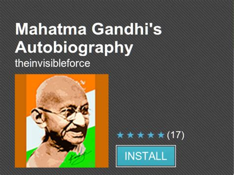 mahatma gandhi autobiography republic day special top 10 must download android apps