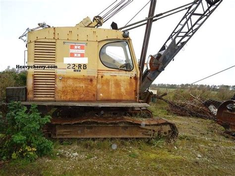 Crane 12 12 Big Sale Bundling B ruston bucyrus crawler crane rb 22 1973 construction crane