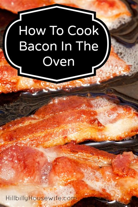 How To Make Bacon In The Oven With Parchment Paper - how to cook bacon in the oven hillbilly