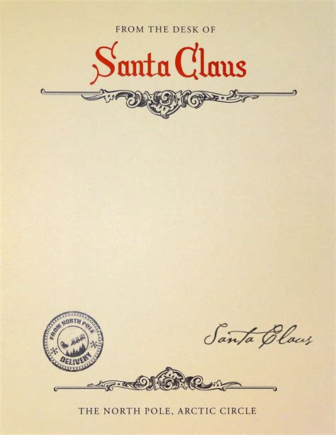 personalized letters from santa custom letter from santa
