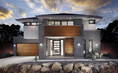 Modern Garage Designs the modern masterpiece milan home design by metricon