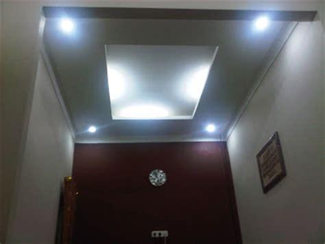 Lu Hias Plafon Minimalis 20 contoh desain plafon gypsum atap rumah ruang tamu