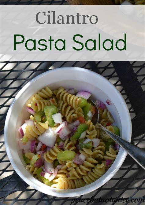 Cilantro Italian Pasta Salad