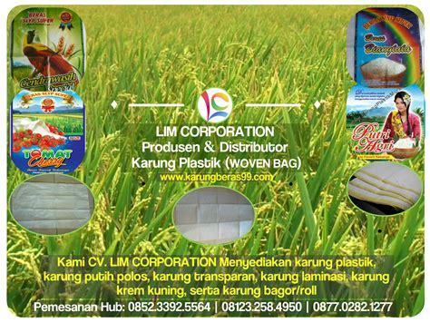 Karung Bagor Surabaya jual berbagai jenis karung plastik karung putih polos