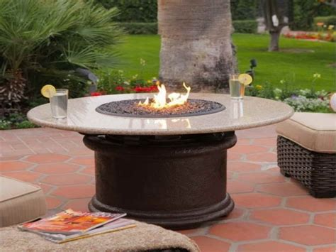 tables with pits propane pit table pit ideas