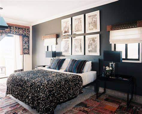 black bedroom walls black accent wall photos design ideas remodel and