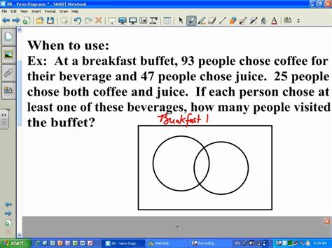 problems involving sets using venn diagrams venn diagram