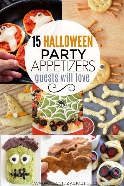 easy halloween appetizers  halloween party appetizers