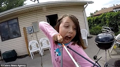 old farmers almanac for teeth pulling2015 video shows alexis davidson firing wobbly tooth from her