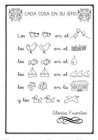 preguntas sobre gloria fuertes poesias infantiles poesias rimas trabalenguas