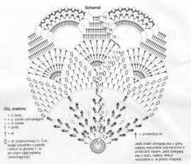 салфетки объемные крючком схемы