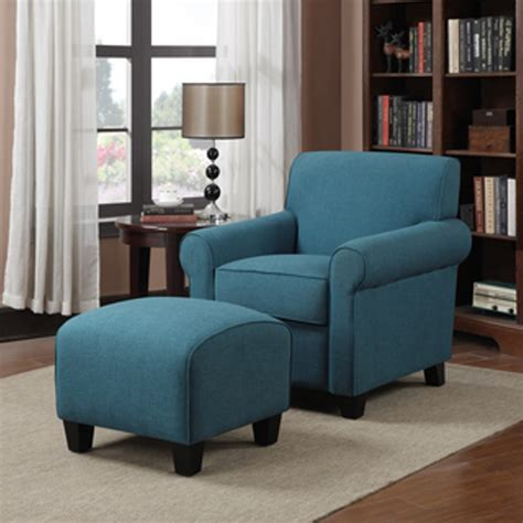 blue chair and ottoman living room beautiful living room accent chair ideas