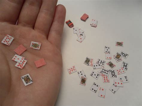 printable small deck of cards mini deck of playing cards by candyforyourskull on deviantart