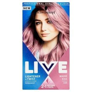 liver color live lightener twist mauve 105 superdrug
