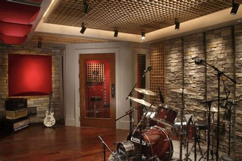 Home Studio Wall Design | want interior creative music room decorating ideas with